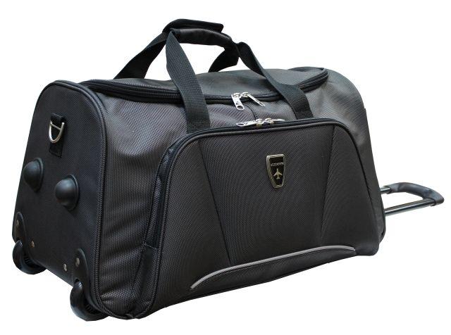 Дорожные сумки альянс на колесах чемоданы в комплекте с сумкой