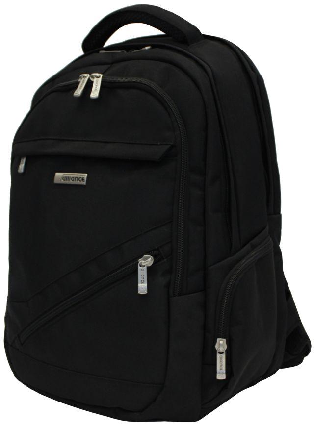 Альянс рюкзак 440x330x180 черный как правильно выбрать рюкзак кенгуру для ребенка 3 х месяцев